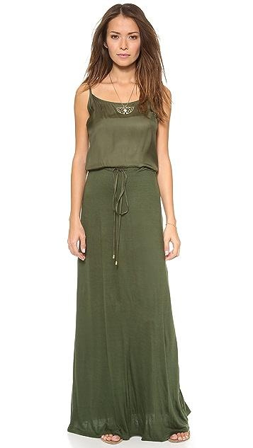 Love Sam Maxi Dress with Drawstring