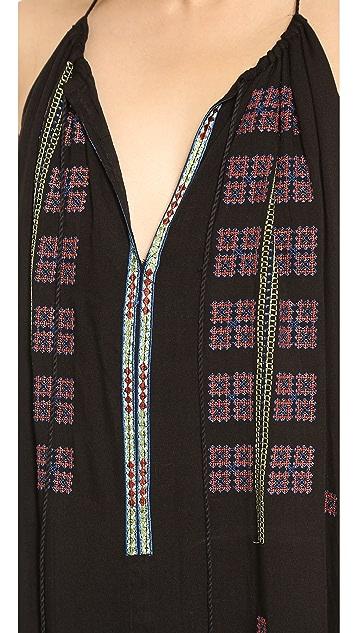 Love Sam Alexandria Embroidered Dress