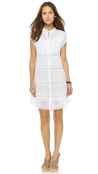 Love Sam Charlotte Pintuck Dress