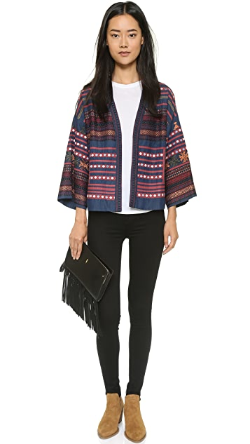 Love Sam Baja Embroidered Jacket