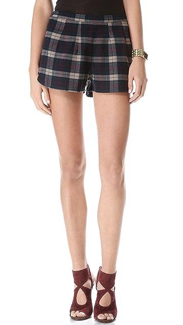 Lovers + Friends Woodstock Shorts