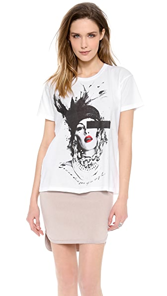 Lovers + Friends Monica Rose Dress You Up Tee