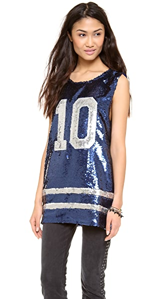 Lovers + Friends All Star Sequin Tunic