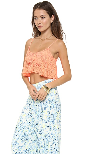 Lovers + Friends Delight Crop Top
