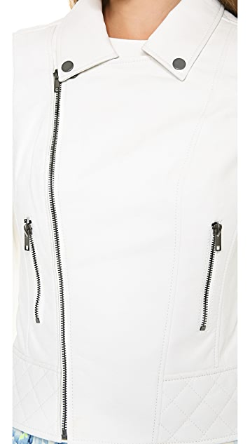 Lovers + Friends Babe Moto Jacket / Vest
