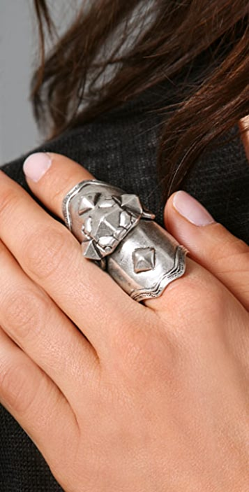 Low Luv x Erin Wasson Armor Knuckle Ring