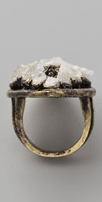 Low Luv x Erin Wasson Rough Crystal Ring