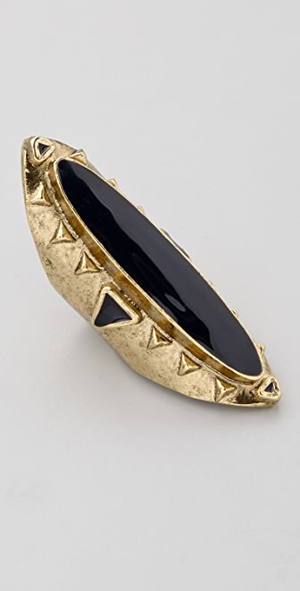 Low Luv x Erin Wasson Long Enameled Ring