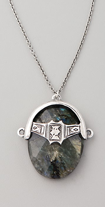 Low Luv x Erin Wasson Labradorite Afghani Toggle Necklace