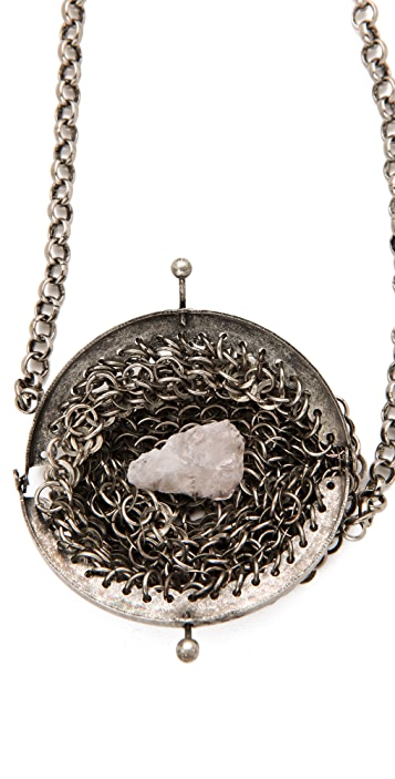 Low Luv x Erin Wasson Chain Mail Bag Necklace