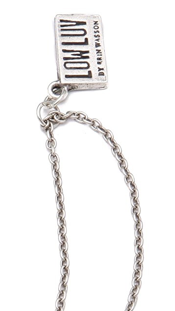Low Luv x Erin Wasson 3 Cage Cubes Necklace