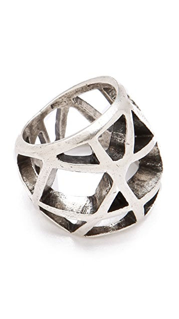 Low Luv x Erin Wasson Domed Cage Ring