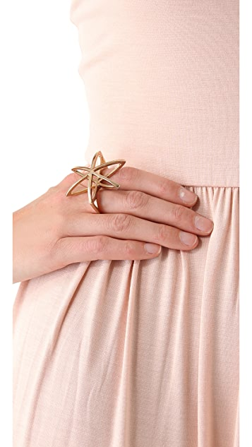 Low Luv x Erin Wasson Cosmos Double Finger Ring