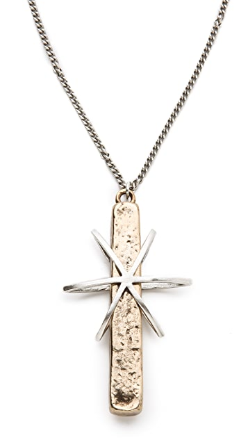 Low Luv x Erin Wasson Cosmos Cross Necklace
