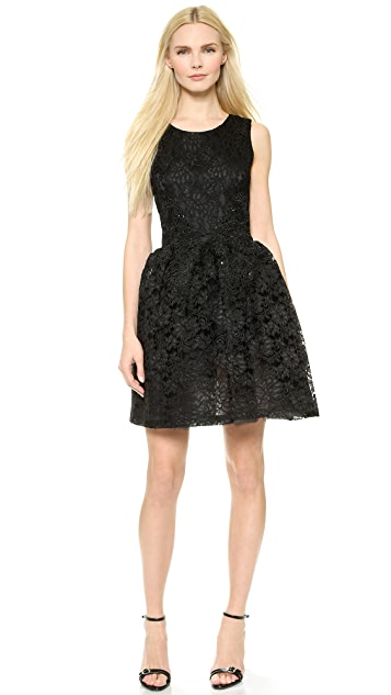 Loyd/Ford Beaded Lace Cup Dress