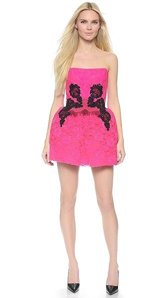 Loyd/Ford Strapless Dress - Pink