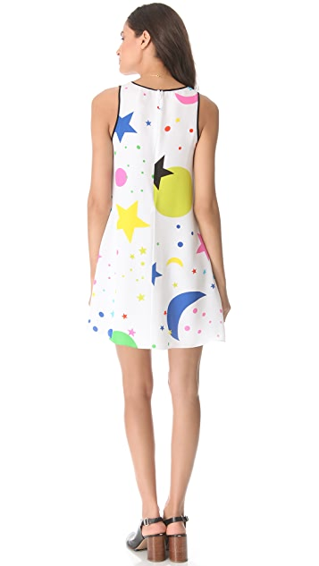 Lisa Perry Outline Galaxy Dress