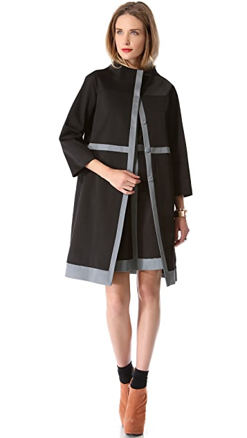 Lisa Perry Intersection Coat