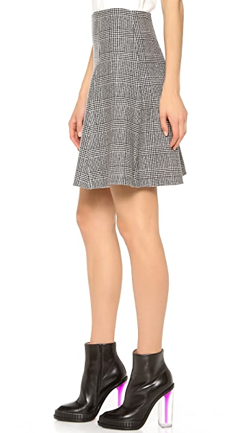 Lisa Perry Reversible Twist Skirt