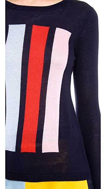 Lisa Perry Bars Sweater