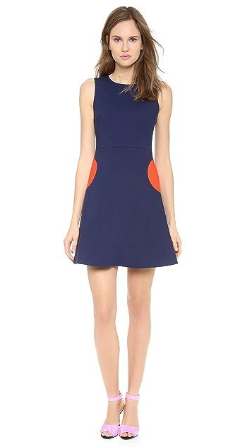 Lisa Perry Circle Pocket Dress