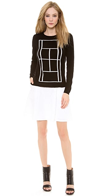 Lisa Perry Mini Dot Space Skirt