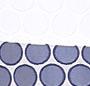 White/Blue Dots