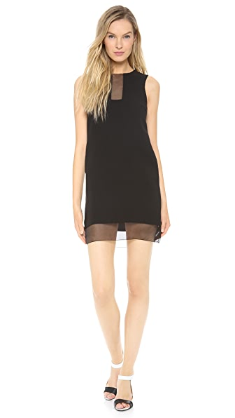 Lisa Perry Sheer Cutout Dress