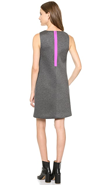 Lisa Perry Geometric Stripe Dress