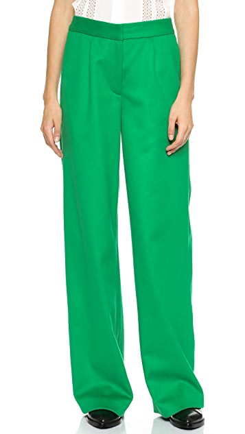 Lisa Perry Felt Wide Leg Pants