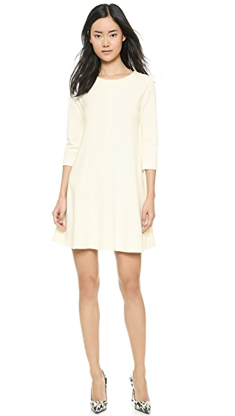 Lisa Perry Seamed Swing Dress