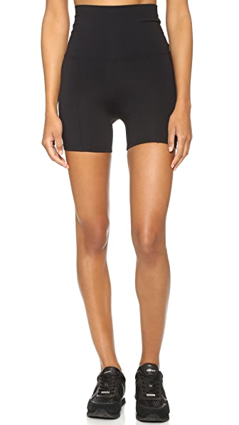 LIVE THE PROCESS Geometric Shorts - Black