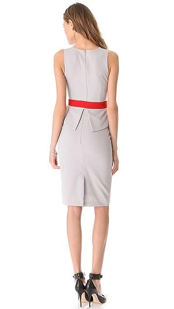 LRK Diana Peplum Sheath Dress