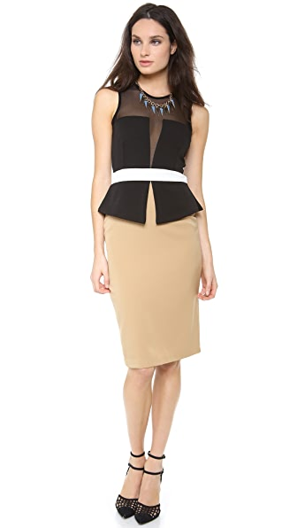 LRK Dita Peplum Dress