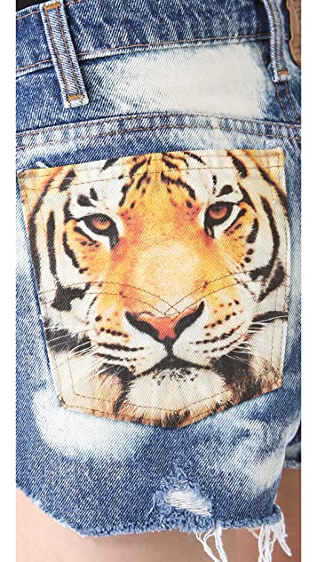 The Laundry Room Big Cat Shorts