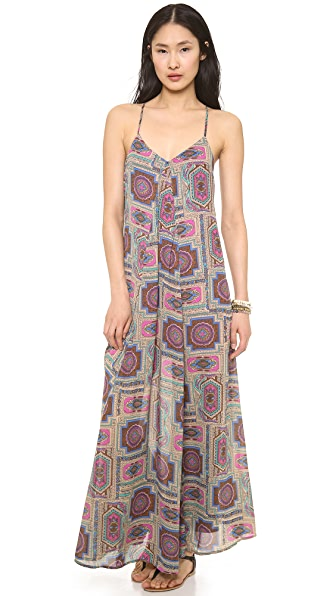 Love Sadie Printed Maxi Dress
