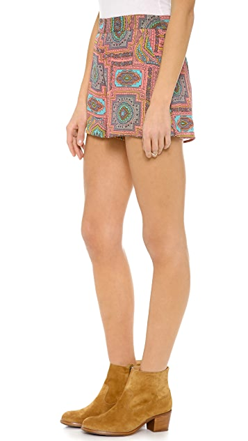 Love Sadie Printed Shorts