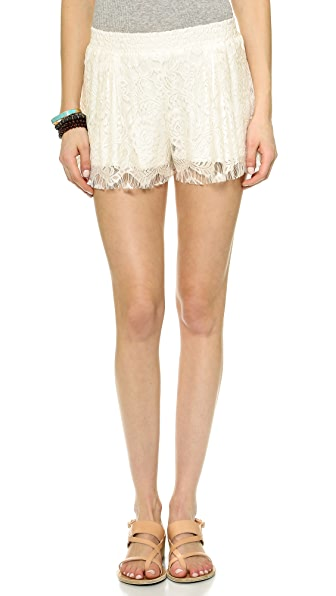 Love Sadie Lace Shorts