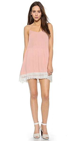 Shop Love Sadie online and buy Love Sadie Lace Sun Dress Blush online store
