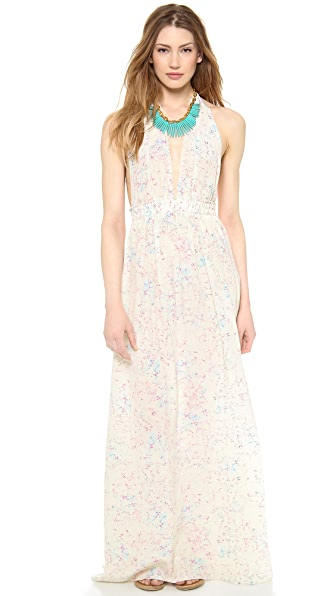 LOVESHACKFANCY Crystal Batik Love Dress