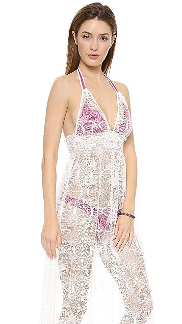 LOVESHACKFANCY Beach Shack Maxi Dress
