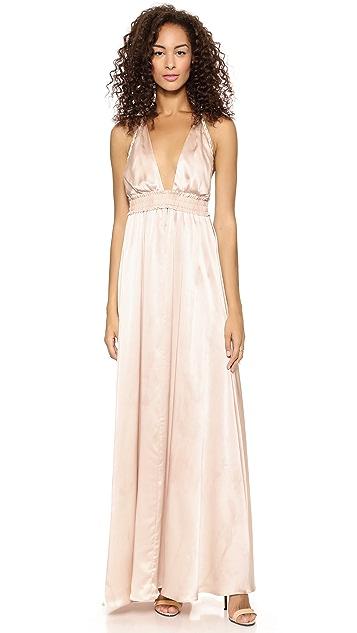 LOVESHACKFANCY Braided Love Dress