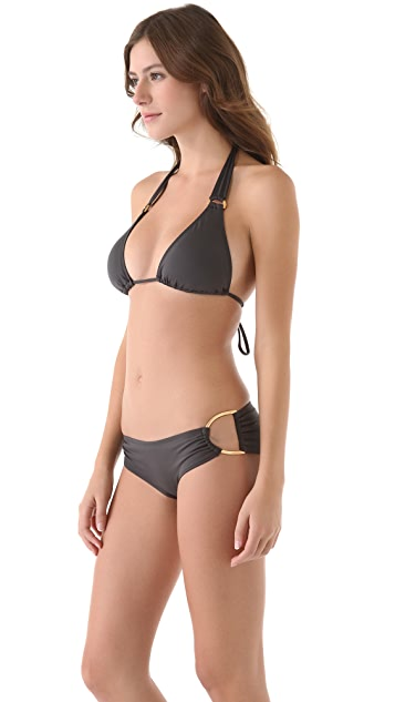 L*Space Angel Halter Bikini Top