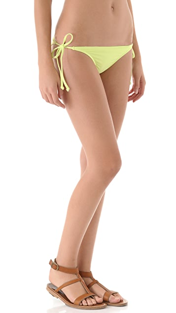 L*Space Sensual Solids Ooh La La Bikini Bottoms