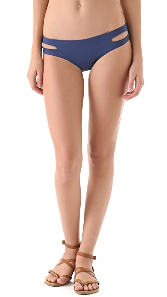 L*Space Sensual Solids Estella Bikini Bottoms