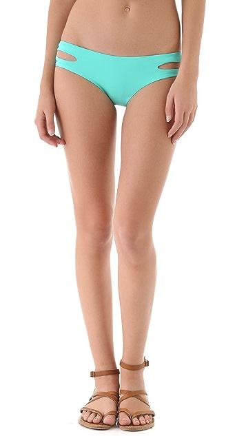 L*Space Sensual Solids Estella Bikini Bottoms