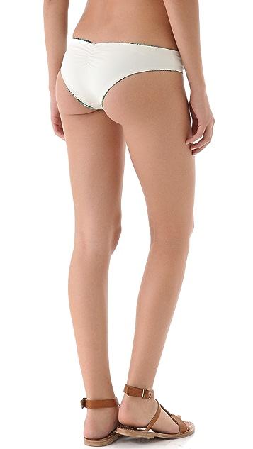 L*Space Viridian Skin Monique Reversible Bikini Bottoms