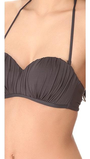 L*Space Ariel Bandeau Bikini Top