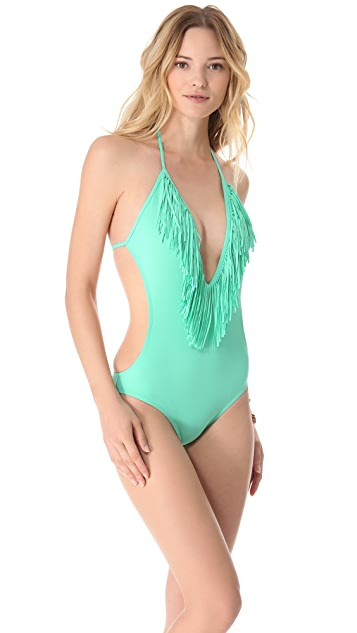 L*Space Stardust Fringe One Piece