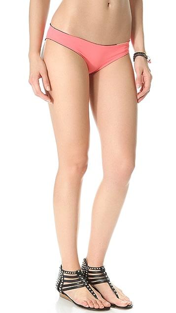 L*Space Colorblocked Reversible Geo Hipster Bikini Bottoms